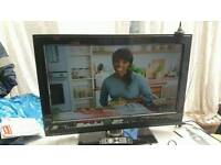 """32 """" Philips lcd TV HD ready with build in freeview."""