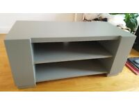 Grey TV stand/table (wooden)