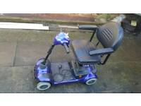 Shoprider mobility scooter fold down used condition