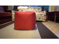 Cube bean bag seat