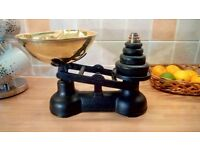 For sale :- Vintage Salter Kitchen Scales