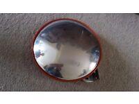 Blind spot / driveway mirror £10