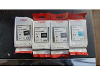 4 orginal Canon PFI-101 Inks For iPF5000 iPF5100 iPF6000 iPF6100