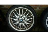 "Bmw mv1m sport ally wheel 18"" 8.5j rear"