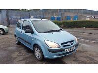 2008 (58 Reg) Hyundai Getz 1.1 GSi 3dr For £495, MOT TILL 09/10/17, Bargain!