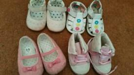 Baby shoes,towels and blanket