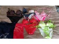 5pcs ladies bikini set - size 10 / 75B