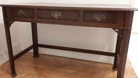 Reproduction style Mahogany Desk