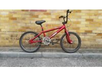 FULLY SERVICED NEARLY NEW BMX BICYCLE