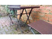 Set of GARDEL TABLE and 2 CHAIRS
