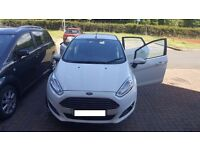 WHITE 5DR FORD FIESTA (65) 1LTR ECO BOOST FOR SALE £7900