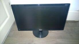 "Acer P206HV 20"" LCD Monitor"