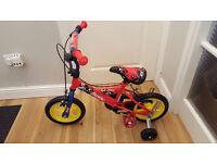 Kids childs Sonic Kap- Pow bike