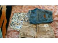 3 pairs if shorts size 6 -8
