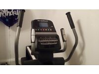 New Elliptical (bought last year, used only a couple of times).