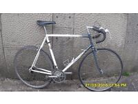 VINTAGE RALEIGH EQUIPE RACING BIKE 23in FRAME SERVICED + 2 NEW TYRES