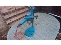 BLACK AND DECKER DRILL AND STAND