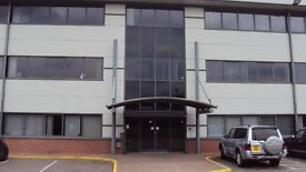 MODERN OFFICE SPACE-1,500 SQ.FT-LOW LOW RENT ONLY £8,000/ YEAR!!- UNIT TO LET- RENT - LEASE-HUCKNALL