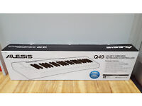 ALESIS Q49 - 49 KEY USB-MIDI KEYBOARD CONTROLLER