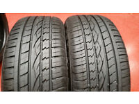 255 50 19 2 x tyres Continental Contract SSR RSC