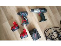 Bosch professional tools drill and impact driver