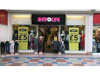 EVERYTHING £5 or less in REVOLVE OCTAGON CENTRE