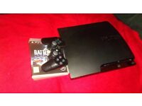 Sony Ps3 slim 160gb + games