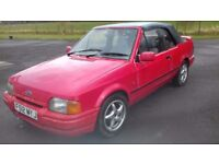 Ford escort project 1.6i not rs or xr3i