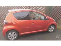 2012 Toyato Aygo Fire 5 dr