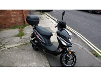 WK GO 50cc 2016 Moped Only 821 Miles in very good condition