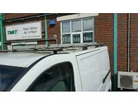 Roof bars x 4 for vivaro,traffic,primaster