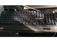 Light up keyboard