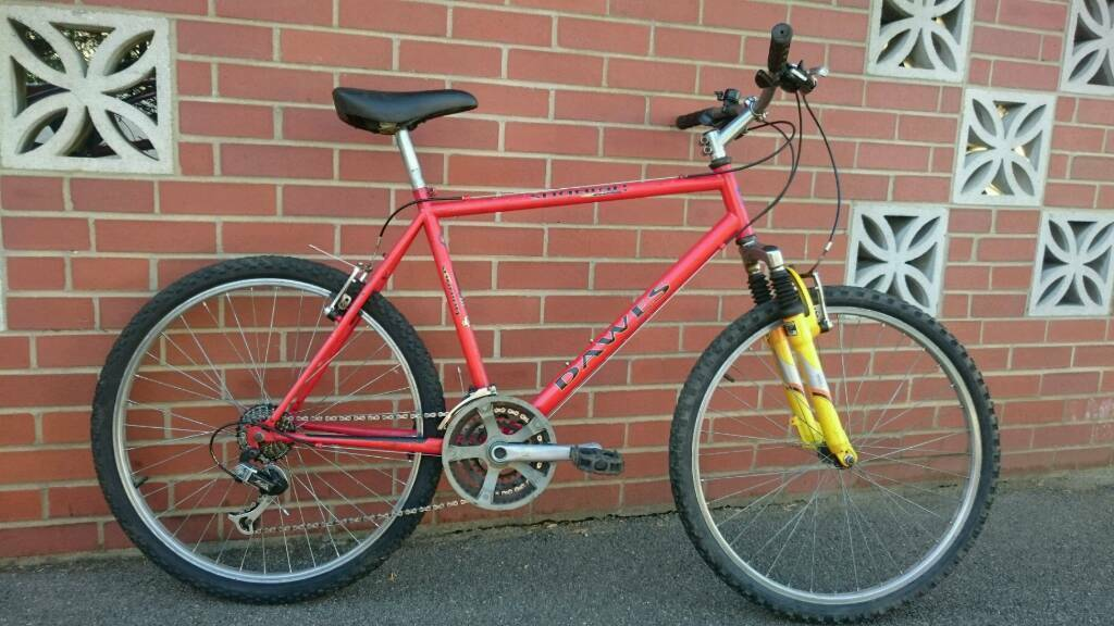 Dawes gents mens mountain bike mtb commuter Serviced perfect working orderin Kempston, BedfordshireGumtree - DawesQuality Gents mountain bike. Perfect working order. Front suspension folks21 speed Shimano gears with rapidfire shifters (replaced chain and sprockets)powerful v brakes Good tyres with lots of tread New cablesFully refurbished, Serviced, cleaned...