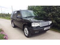 Range Rover MK2 4.6 HSE – 1999 – Black with ivory leather interior