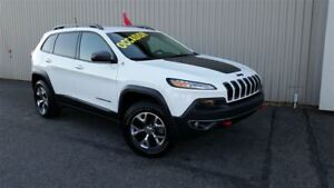 2016 Jeep Cherokee Trailhawk +V6, Temps Froid+