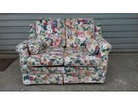 Floral sofa bed settee