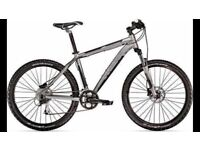 "Men's Trek 4500 Mountain Bike MTB, 22.5"" frame, Matte Onyx, Immaculate Condition!!"