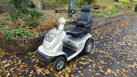 NEW BATTERIES TGA Breeze 8mph Mobility Scooter + Canopy 3 Month Guarantee DELIVERY POSSIBLE