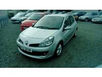 08 Renault Clio 1.2 5 DOOR Service History moted Jan 18 low Ins ( can be viewed anytime)