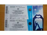 2 x Lionel Richie tickets - Hove, 23rd June