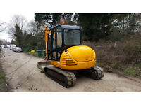 2008 JCB 8060 6 TON ZTS DIGGER/ EXCAVATOR WITH 3 BUCKETS