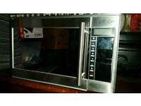 Elitech steam oven with combination grill.
