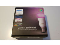 *NEW*UNSEALED* Philips Hue Richer Colours B22 Starter Kit with Dimmer Smart Home