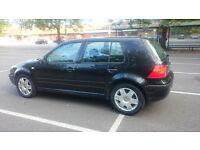 2003 VW GOLF 1.4 Black; £1000 spend on servicing
