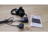 Panasonic DMC-FZ18 Bridge Digital Camera 8.1MP 18x Optical Zoom - As new condition