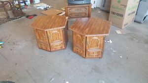Side tables and Matching end tables