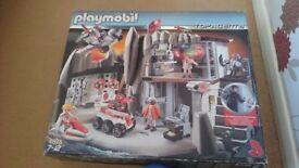 Playmobil secret agents headquarters