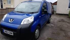 Peugeot bipper FSH Full MOT