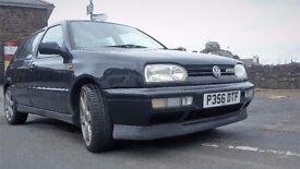 VR6 D-Reg (1996) black, petrol, 5-door
