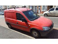 Vauxhall Combo for sale MOT May 2017